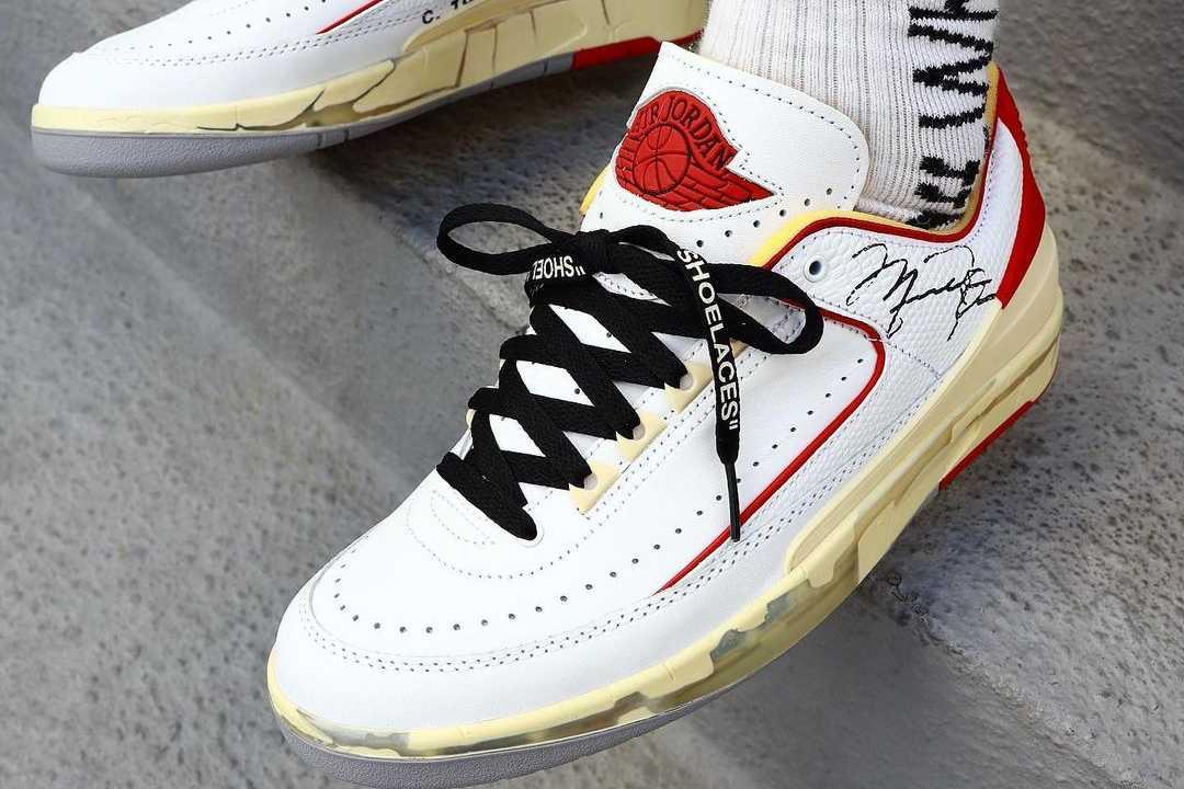 【リーク】11/12発売 Off-White × Nike Air Jordan 2 Low 抽選/定価/販売店舗まとめ